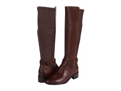 Cole Haan Newcastle Stretch Boot (40 mm) (Deep Mahogany Mesa Waterproof Leather) Women