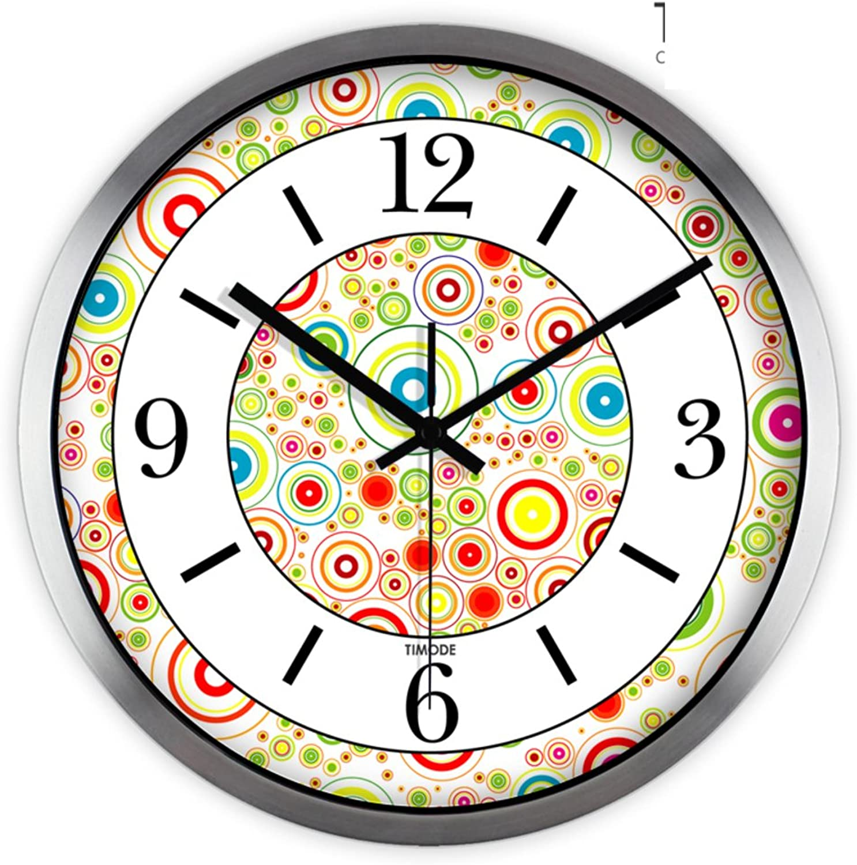 Wall clock bracket clock System clock hgoldloge hgoldlogium quartz clock crystalwall clock bracket clock crystal SystemArt Deco wall charts  quiet design clock-A 12inch