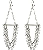 Lucky Brand - Tri-Tone Chain Earrings