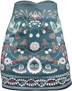 a9c6f5eb2 Amazon.es: Etnica - Multicolor / Faldas / Mujer: Ropa