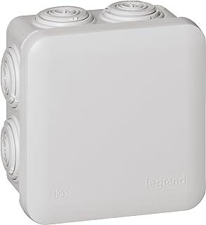 Legrand 92012 Caja de conexiones eléctricas, 90x90x50 mm