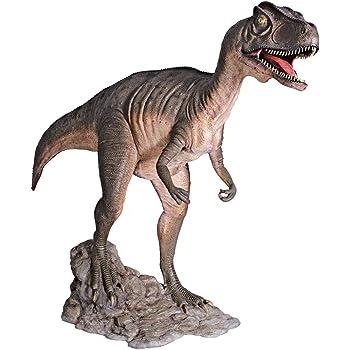 Design Toscano Jurassic Sized Attacking Allosaurus Dinosaur Statue