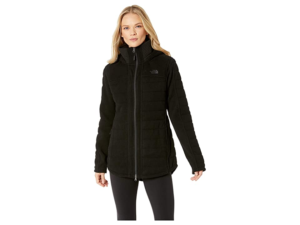 The North Face Indi Insulated Parka (TNF Black Heather 1) Women