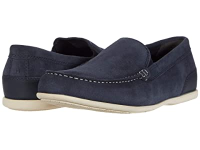 Rockport Malcom Venetian (New Dress Blues Suede) Men