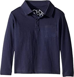 Polo Shirt with Front Pocket (Toddler/Little Kids)