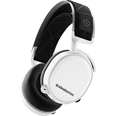 SteelSeries ゲーミングヘッドセット ワイヤレス 無線 密閉型 ロスレス 低遅延 7.1chサラウンド Arctis 7 61508
