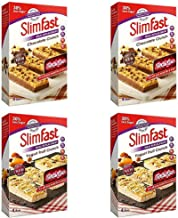 Slimfast Meal Replacement Variety Bars Yoghurt fruit Crunch and Chocolate Crunch Meal 4 Boxes 2 of Each Flavour 16 Bars in Total Estimated Price : £ 31,95