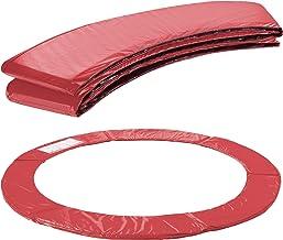 Arebos Randafdekking voor trampoline, 183, 244, 305, 366, 396, 427, 457 of 487 cm, rood