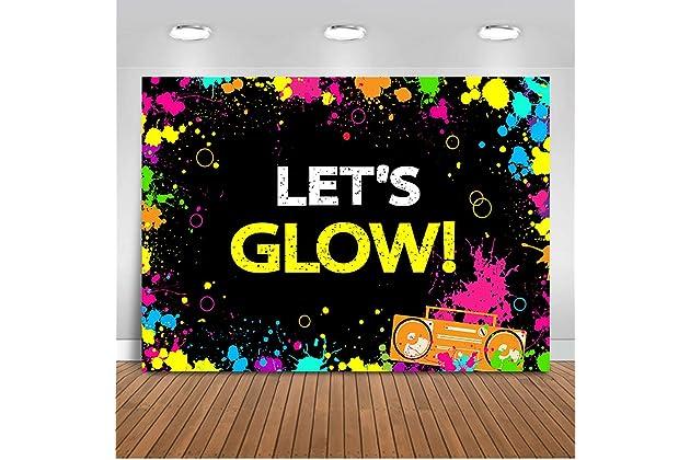 Best neon backdrops for parties | Amazon com