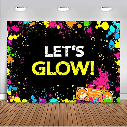 Neon Glow Party Supplies Amazon Com