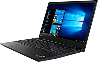 Lenovo ThinkPad E580 Business Laptop 15.6in Anti-Glare (1366x768), Intel Core i5-7200U, 500GB HDD, 4GB DDR4 Windows 10 Professional - Black (Renewed)