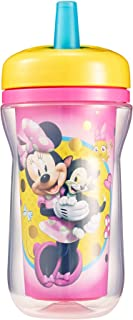 The First Years Insulated Straw Cup, Disney Minnie Mouse, 9 Ounce