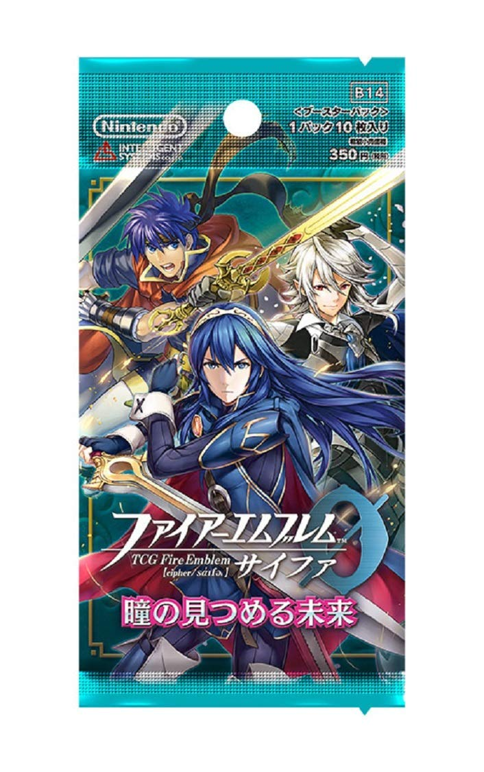 Fire Emblem (1pack TCG 0 (Cipher) Booster Pack Future Watching Eyes(10 Cards Included): Amazon.es: Juguetes y juegos