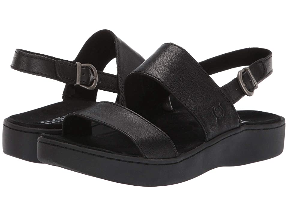 Born Oconee (Black Full Grain Leather) Women