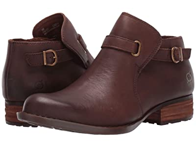 Born Kristina (Dark Brown Full Grain Leather) Women