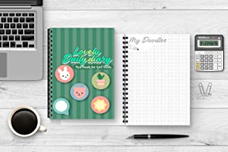 (No. 53) Notebook for girl Daily: Lovely Daily Diary, Paperback, size 6x9 inch, 200 pages thick.