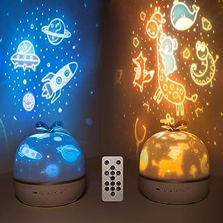 Night Light for Kids, Star Projector Kids Night Light...