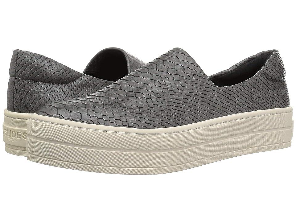 J/Slides Harlow (Grey Embossed Lux) Women
