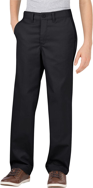 Dickies Khaki Boys' Flex Brand Cheap Sale Animer and price revision Venue Waist Pant Stretch