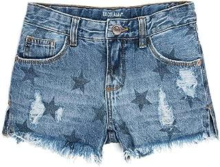 Bermuda Jeans Infantil Feminina Stone