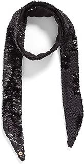 Ted Baker London Sequin Velvet Thin Skinny Scarf