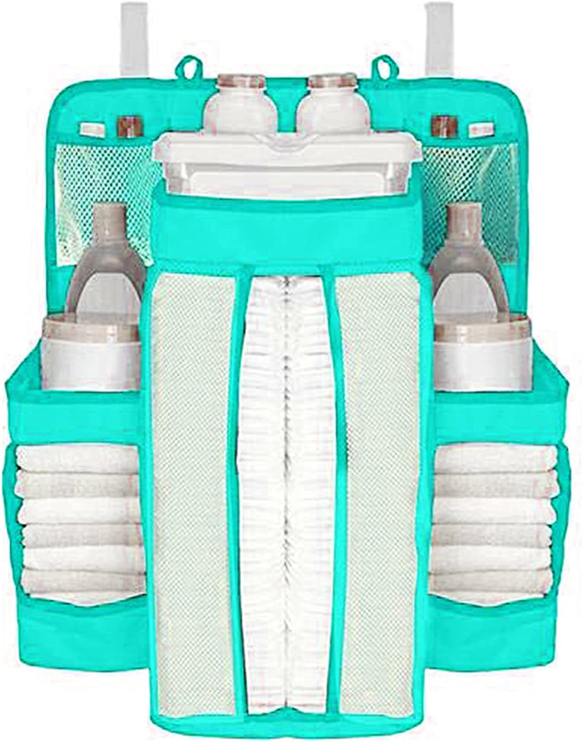 Hanging Diaper Organizer Columbus Mall Max 68% OFF for Changing Table Sta Crib and