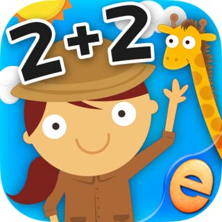 Animal Math Games for Free First Grade and Kindergarten Learning Games, Counting, Addition and Subtraction Math Apps for Kids