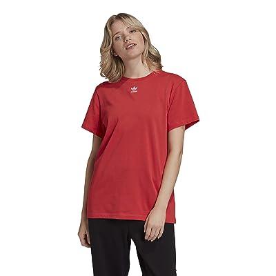 adidas Originals Trefoil T-Shirt (Glory Red) Women