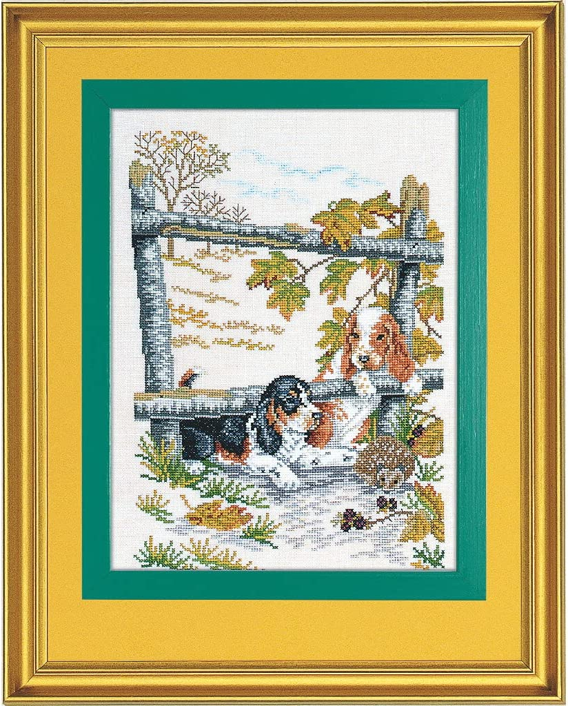 Max 48% OFF Eva Rose Stand Cross 67% OFF of fixed price Stitch Set and Hedgehog Patte Puppy Counted