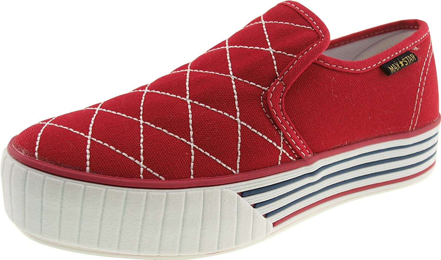 Maxstar Low-top Stitch Canvas Sneakers shoes