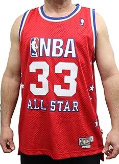 adidas Larry Bird Boston Celtics East All-Star Red Throwback Swingman Jersey