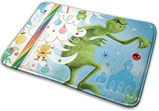 BIRSY How The Grinch Stole Christmas Area Rugs Carpet Door Mats For Kitchen 15.7 X 23.5 Inch 18x30(IN)