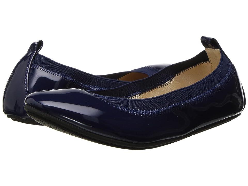Yosi Samra Kids Miss Samara Patent Ballet Flat (Little Kid/Big Kid) (Navy Patent) Girls Shoes