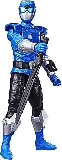 Power Rangers Hasbro E7803ES0 30 cm Beast Morphers Beast-X blå ranger actionfigur till Power Rangers TV-serien