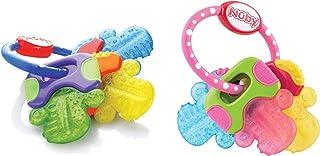 Nuby Ice Gel Teether Keys (2 Pack Pink/Blue)