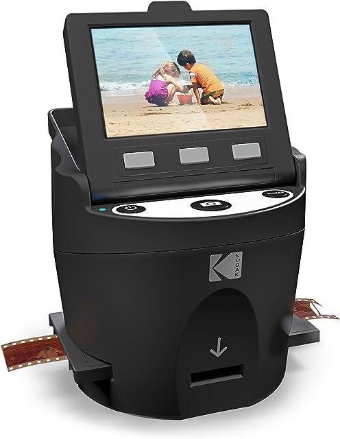 Kodak Digital - Escáner de películas negativas para JPEG (35 mm 126 110 Super 8 y 8 mm)