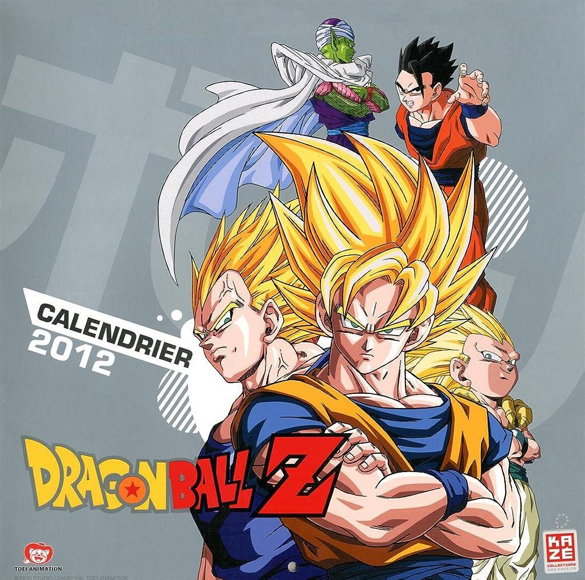 欠かせない投獄靴Calendrier 2012 Dragonball Z