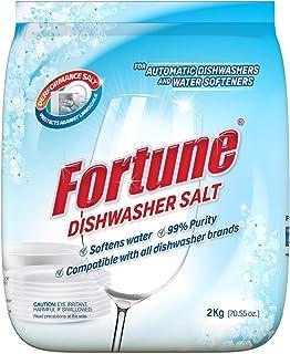 Fortune Dishwasher Active Salt 2 Kg (Pack of 3) - Compatible with all Dishwasher Brands