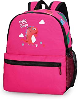 Dinosaur Preschool Bookbag Cute Toddler Backpack with Leash for Kid Girl Boy 3-6