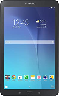 Samsung Galaxy Tab E 9.6 16GB T567V 9.6-inch Wi-Fi + Verizon 4G LTE Tablet PC- Black (Renewed)