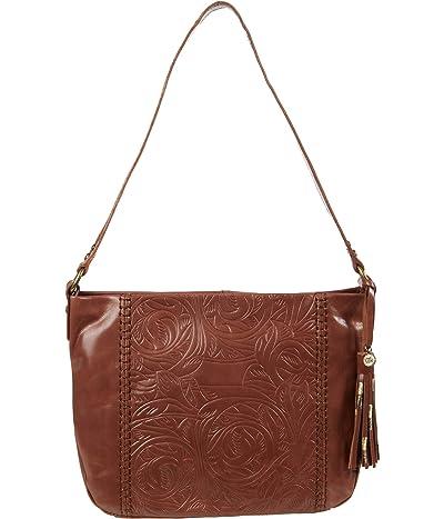 The Sak Melrose Hobo (Teak Leaf Embossed) Handbags
