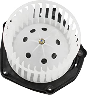 MYSMOT Heater Blower Motor w/Fan Cage for 1999-2000 Cadillac Escalade/ 1997-99 Chevy C1500 C2500 K1500 K2500 Truck/ 97-00 GMC Yukon Tahoe Suburban 19131213