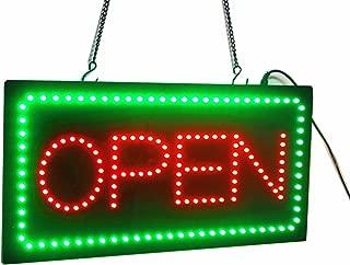 illuminated open signs