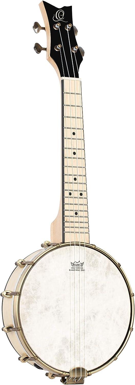 Ortega Guitars 4-String Banjolele Direct Detroit Mall store Series Acoustic-E Left-Handed
