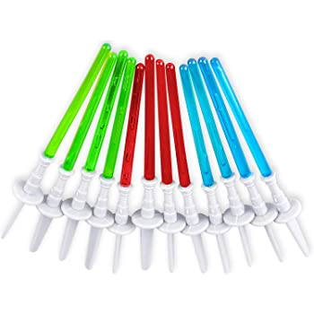 24 Pc Deco4Fun Lightsaber Star Wars Birthday Party Cupcake Toppers Party Decorations
