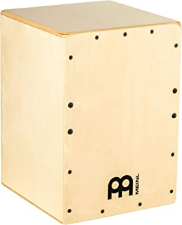 Meinl Cajon Box Drum with Internal Snares - MADE IN EUROPE - Baltic Birch Wood, Compact Size, 2-YEAR WARRANTY (JC50B)