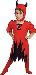 Taglia Unica 86084 Rosso Boland- Parrucca Diavoletta Curly Devil con Corna per Adulti