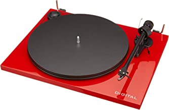 Pro-Ject Essential II Digital USB Turntable - Red