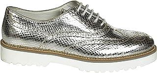 HOGAN Luxury Fashion Womens HXW2590R320BV6B200 Silver Lace-Up Shoes   Spring Summer 19