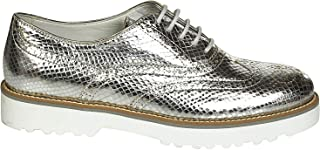HOGAN Luxury Fashion Womens HXW2590R320BV6B200 Silver Lace-Up Shoes | Spring Summer 19